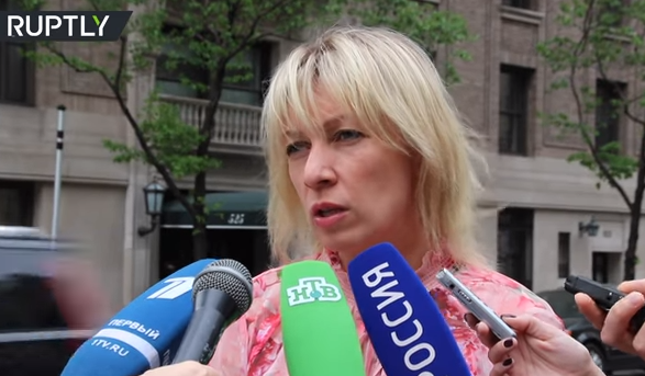 Мария Захарова прокомментировала ситуацию вокруг исполнения её песни «Верните память» на Украине