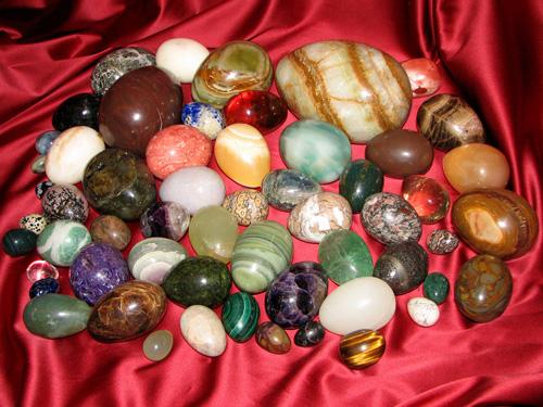 Мои каменные яйца