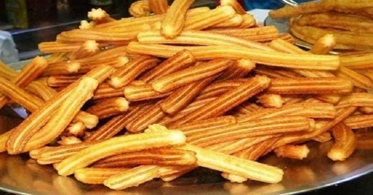 Испанские пончики : Чуррос
