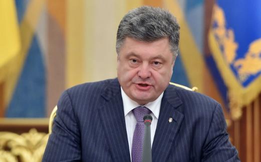 Порошенко рассказал украинским блогерам, как будет зачищать Донбасс