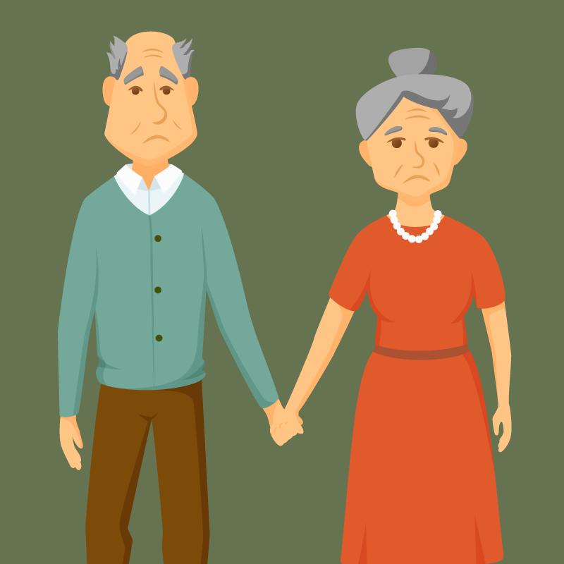 Анекдот озабывчивом пожилом муже