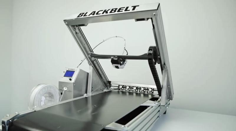 Инновационный 3D-принтер Blackbelt заменит конвейер