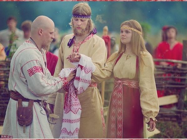 Славянская свадьба это