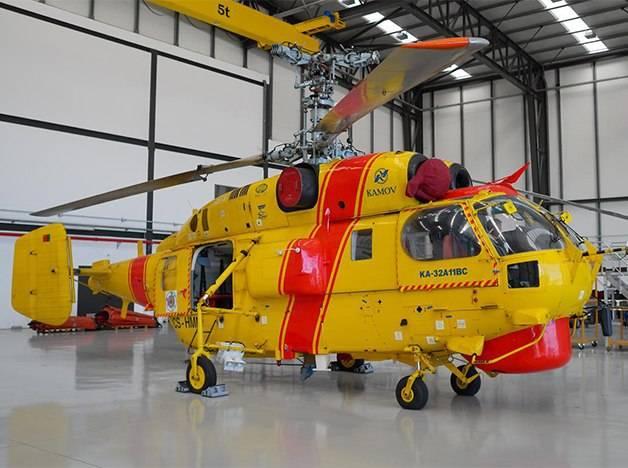 Ростех поставит в Китай 14 многоцелевых вертолетов