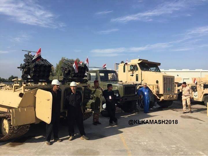 В Ираке представили РСЗО на базе российского автомобиля «Садко»
