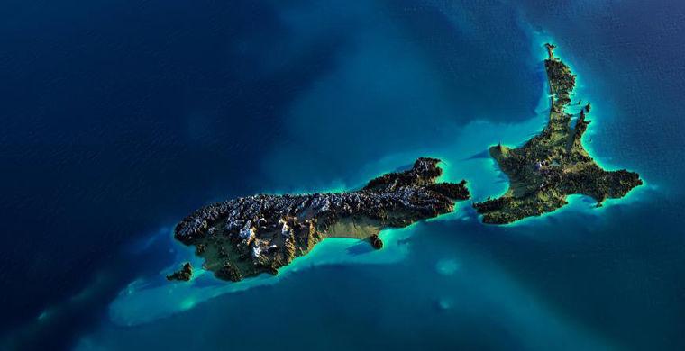 Землетрясение сблизило два главных острова Новой Зеландии