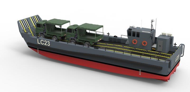 Новые итальянские десантные катера