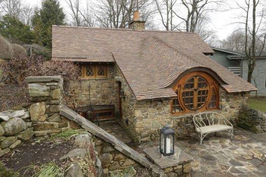 Дом хоббита в Пенсильвании.