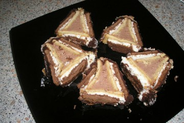 Рецепт творожный домик из печенья 1