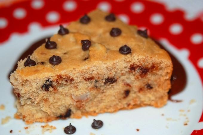 Рисовый пирог с шоколадом
