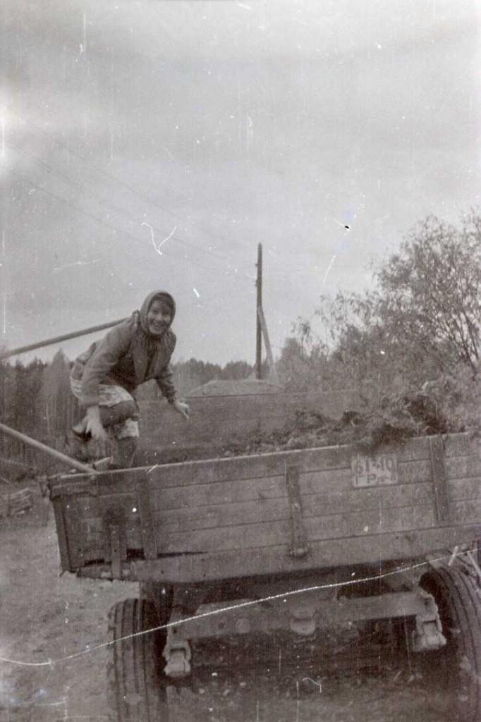 Сельская жизнь. Весна 1979.