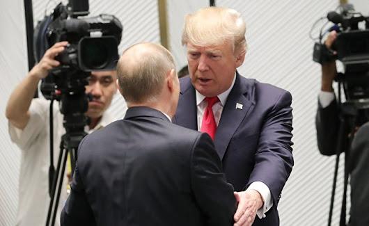 Переговоры Путина и Трампа в…