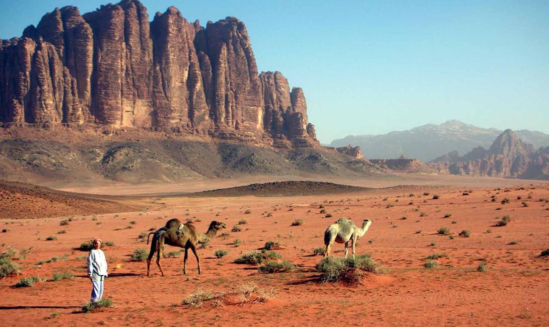 Марсианская пустыня на Земле