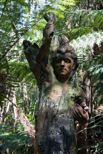 Скульптуры тропического леса Олинды (6 фото)