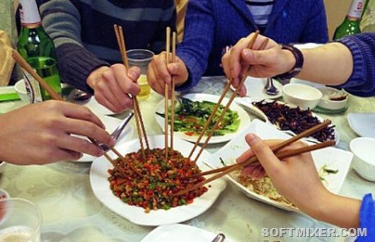 Чем питаются обычные китайцы