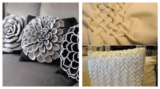 Топ 20 потрясающих идей, как переделать подушки своими руками (мастер-класс)