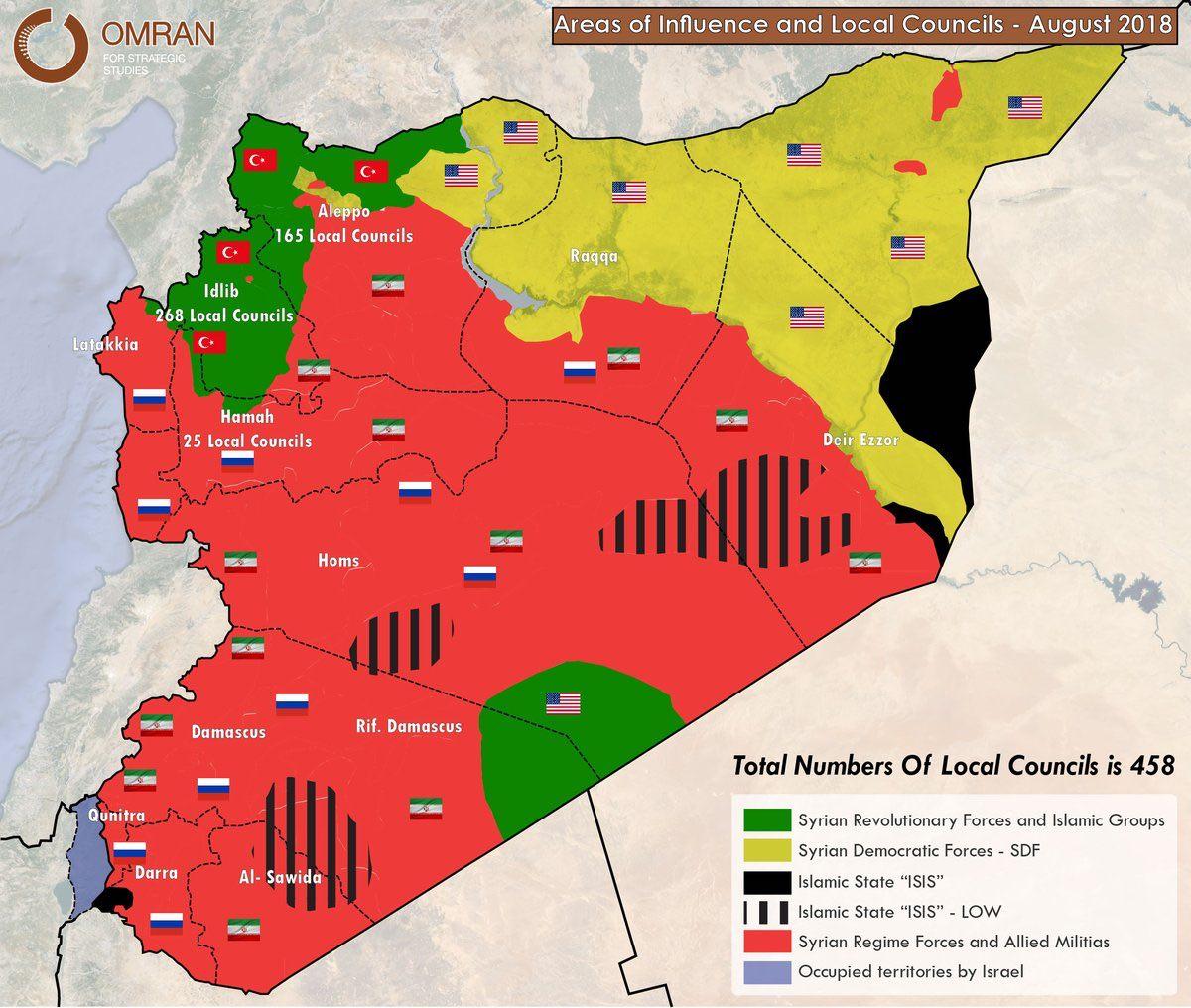 Коротко по Сирии. 04.08.2018