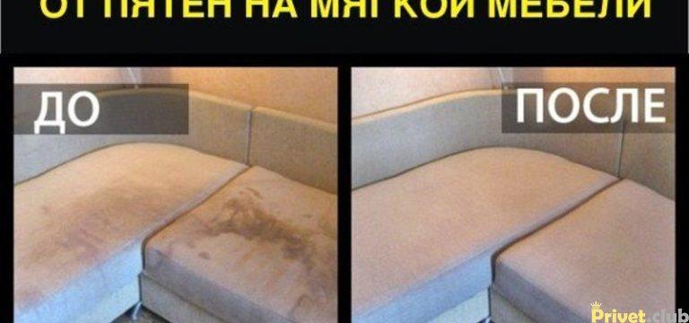 Как очистить мебель с обивкой из бархата вельвета велюра или флока от пятен