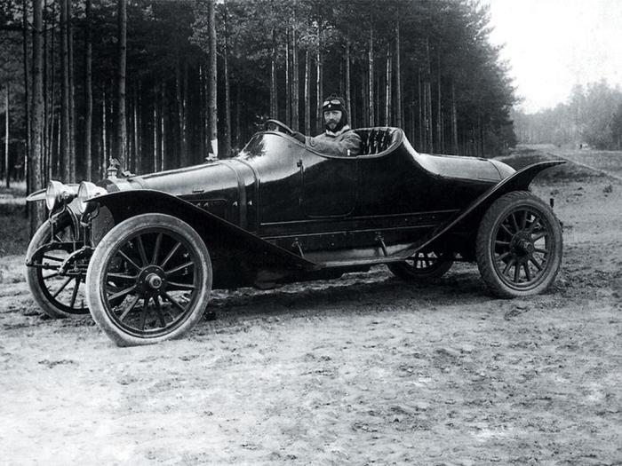 Руссо-Балт С24/55, подготовка к Ралли Монте Карло, 1911 год.