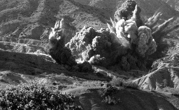 Как воевали под землёй в Афганистане