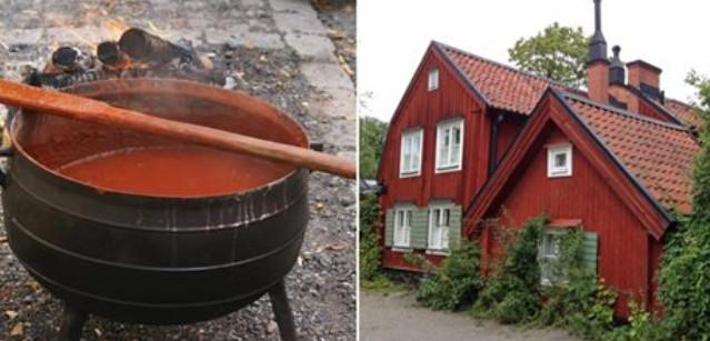 Рецепт скандинавской краски …