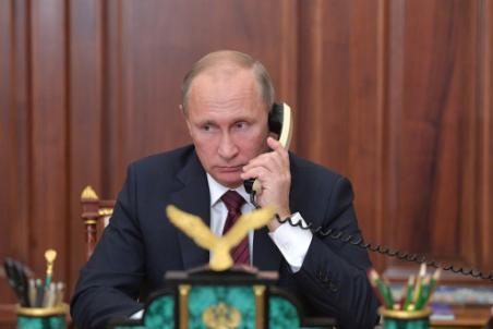 Путин напомнил Меркель условия размещения миротворцев ООН в Донбассе