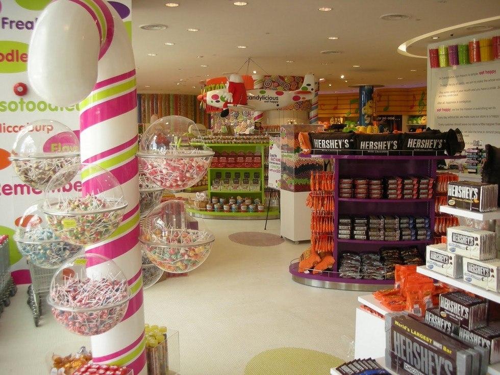 Candylicious: самый большой магазин сладостей
