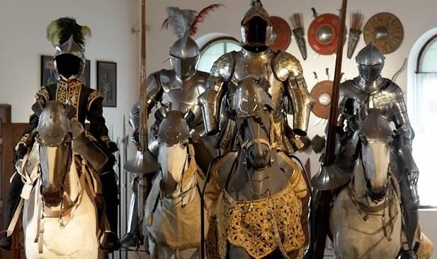 Всадники в Императорском арсенале Вены