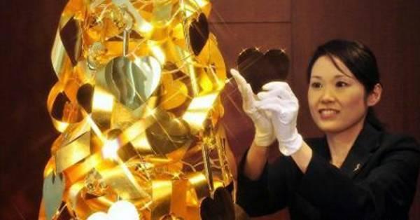Продается такое произведение ювелирного искусства в японии в специализированном магазине драгоценностей