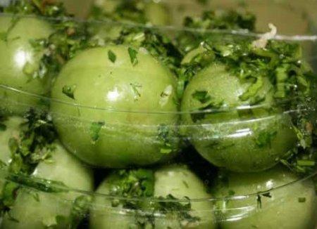 Засолка зеленых помидоров без уксуса на зиму в бочке