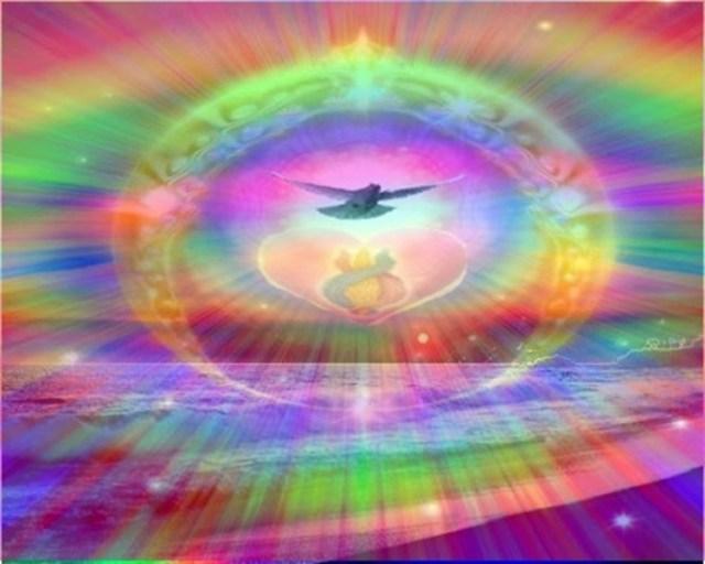 Семь цветов радуги. Космические вибрации и бесконечное эхо.