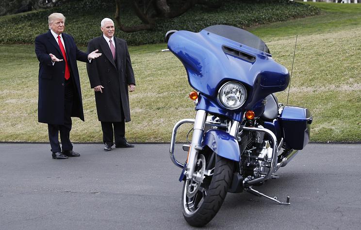 """Урал"" заказал Трампу мочить Harley-Davidson!"