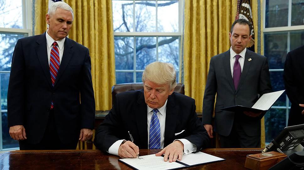 Новый указ Трампа приведет к…