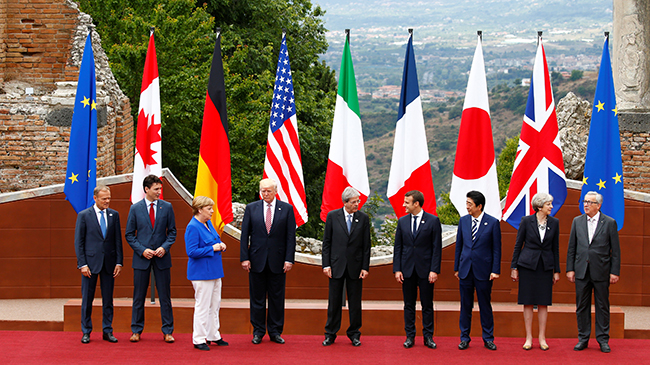 Во Франции предложили исключить США из G7
