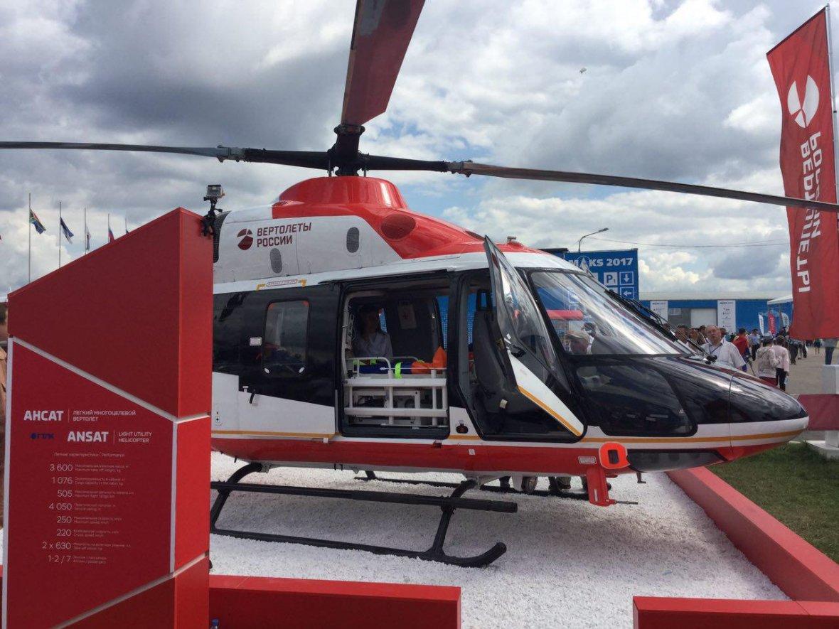 «Вертолеты России» продали в Китай еще десять гражданских вертолетов