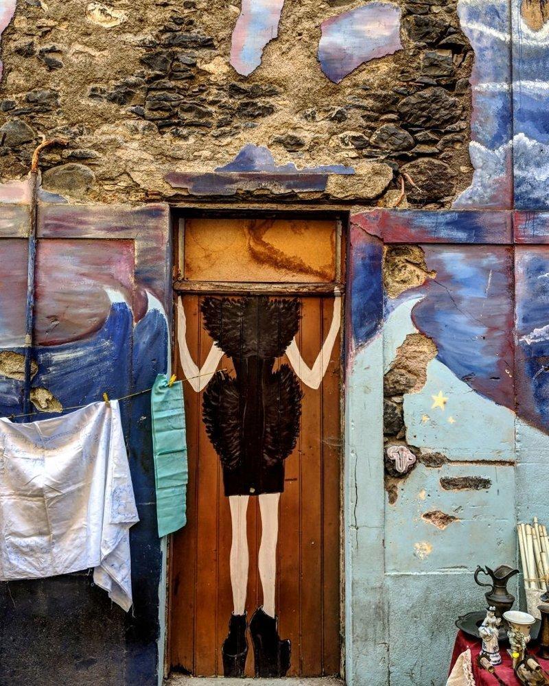 25. дверь, картина, мадейра, португалия, путешествие, фотография, фотомир