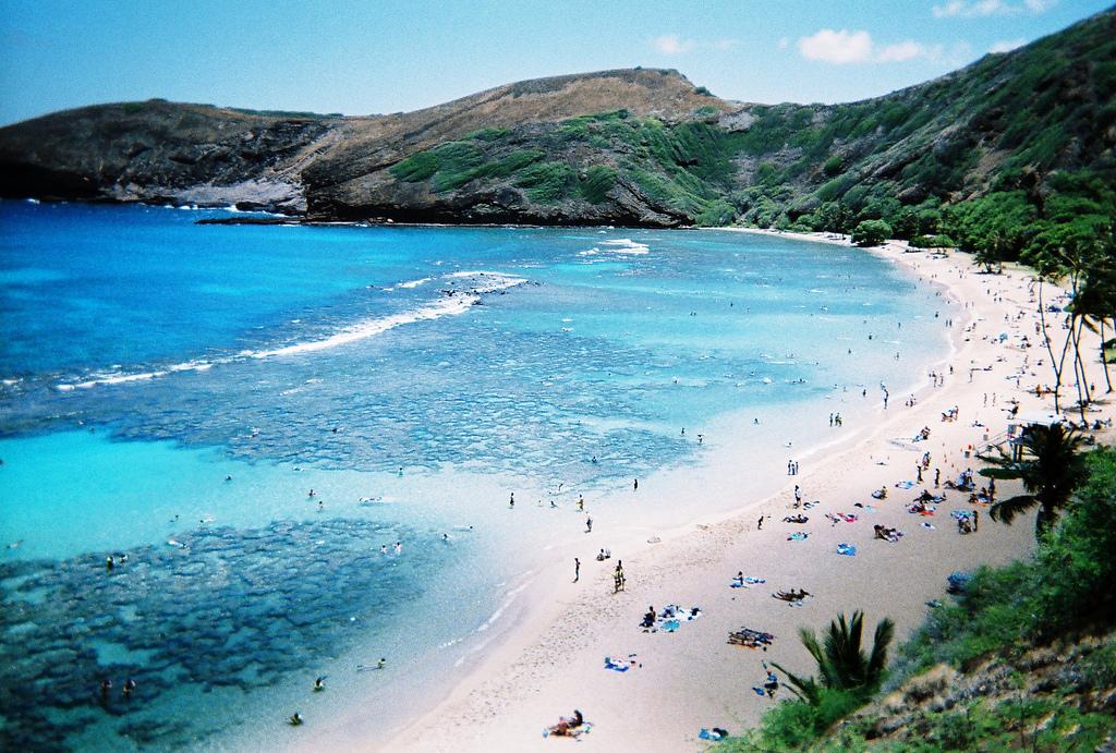 Пляж Ханаума Бэй, Гавайи