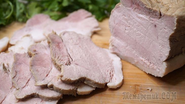 Мясо в термосе