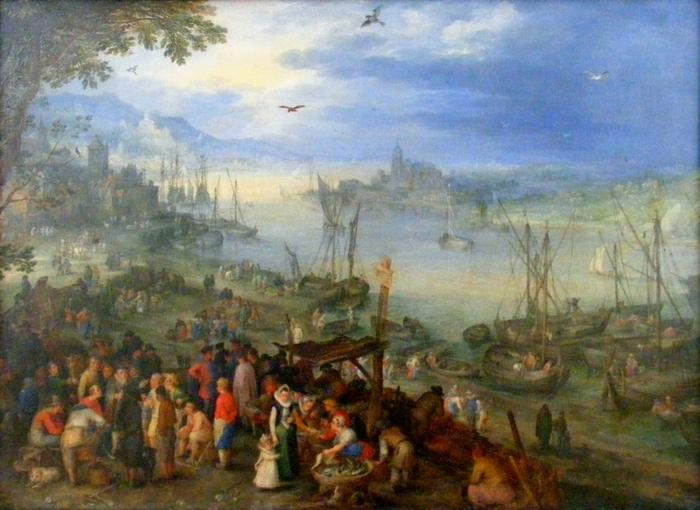 4000579_Jan_Brueghel_the_Elder__Fischmarkt_am_Ufer_eines_Flusses1_1_ (700x510, 282Kb)