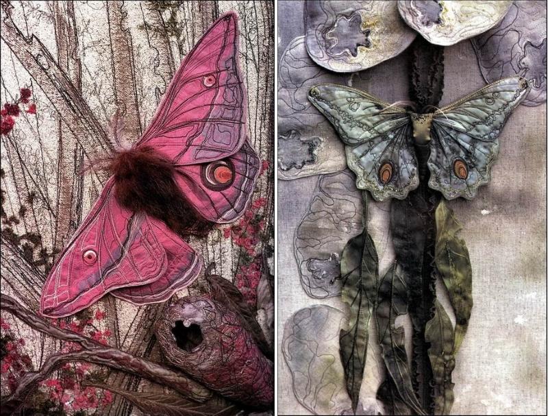 Творчество художницы по текстилю Аннемиеке Мейн (Annemieke Mein)