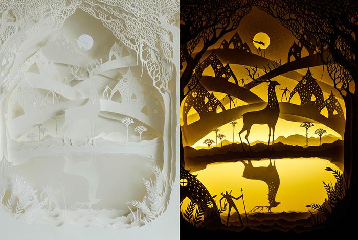 Волшебство теней и силуэтов: сказки, рассказанные светом и бумагой