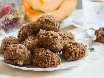 Цельнозерновое печенье с тыквой