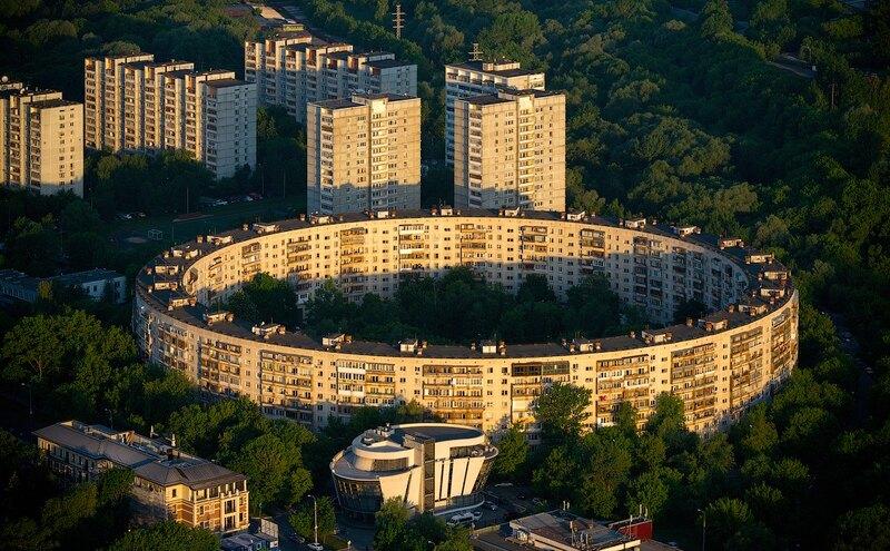 Дом-кольцо вМоскве