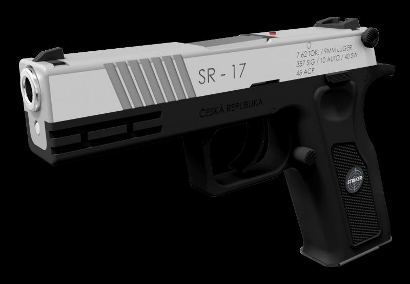 Новинки оружия 2018. Новый чешский многокалиберный пистолет SR-17