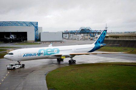 Airbus занялся сборкой первого A330-800