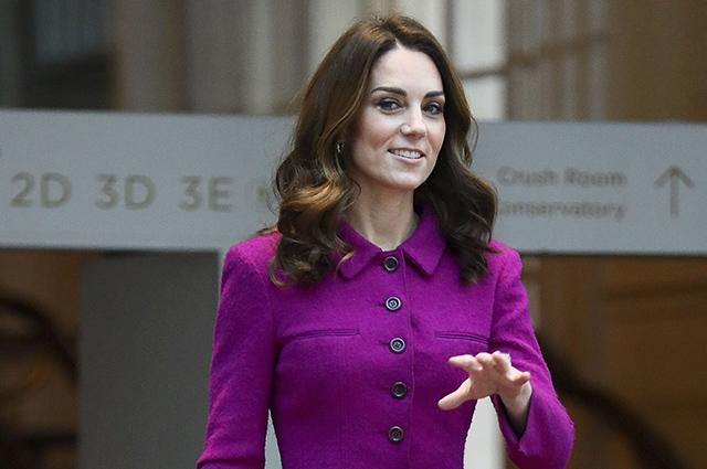 Кейт Миддлтон посетила Корол…
