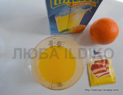 Апельсиновый торт 5