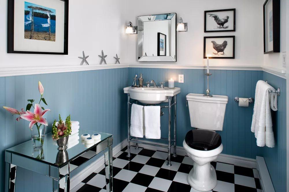 Какая плитка подходит для туалета?