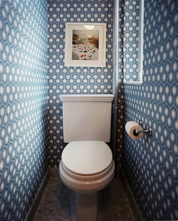 в туалете фото
