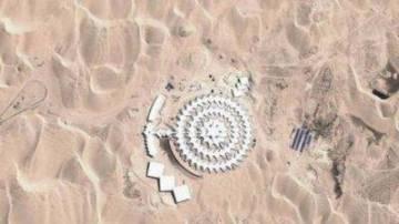 В пустыне Китая обнаружено н…